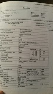 Suche Heckklappe Audi A4 Avant