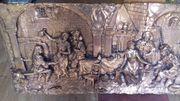 Kupfer Bild Weinprobe