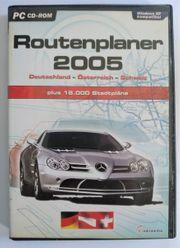 CD ROM - Routenplaner 2005 2