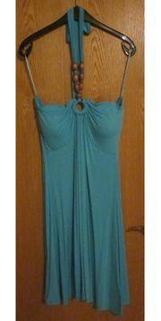 Gr 42 Sommer-Kleid mit Holz-Perlen