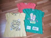 Kurzarmshirt T Shirt Größe 110