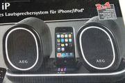 Schnurloses Lautsprechersystem für iPhone iPod
