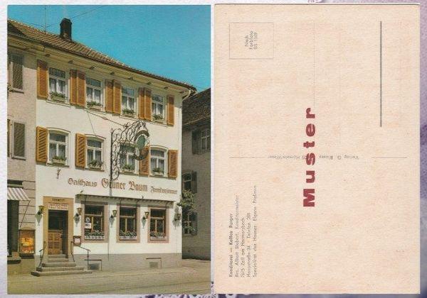 Alte Postkarte Konditorei- Kaffee Burger