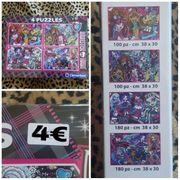 mädchen puzzle 4 in 1