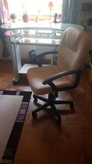 Designerbüro PC Tisch mit Bürosessel