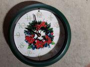 Uhr mit Weihnachtsliedern