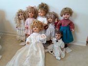 Alte Puppen zu verkaufen