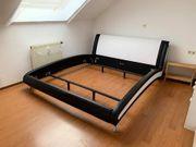 Stillvolles Polsterbett von Hofmeister 180x200