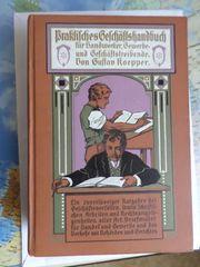 Altes Buch für Handwerksgründer aus