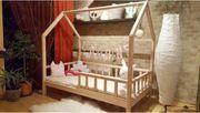 Hausbett Mit Barriere Sona Kinderbett