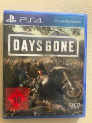 Days Gone PS4 - neuwertig