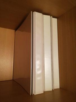 Büromaterial - Ordner weiß 20 Stk schmal