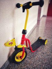 Puky R1 rot-gelb hinten Doppelräder