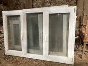 Fenster aus Meranti-Holz weiß