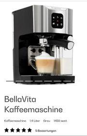 Klarstein BellVita Kaffemaachiene Grau