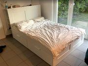 IKEA Hemnes Bett Inclusive Kopfteil