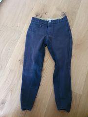 Reithose Gr 134 dunkel blau