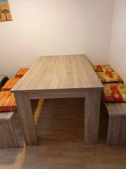 Tischgruppe Sonoma Eiche