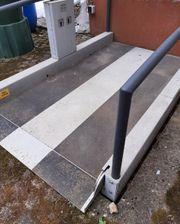 Rollstuhllift Hebebühne Marke Stepless