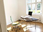 Schönes sonniges Büro mit Garten