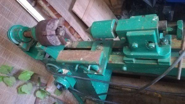 Drechselbank Holzbearbeitung