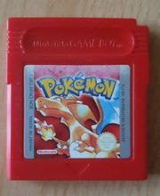 Game Boy Pokemon Rot Rote