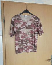 T-Shirt mit Muster Größe 40