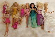 Barbie Puppen Sammlung 9 Stück