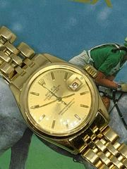 Rolex Datejust750er GoldDamenarmbanduhrRolex Lady 18K