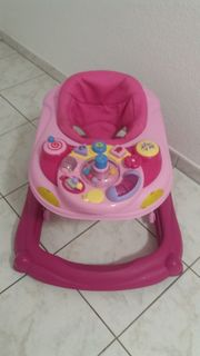 Lauflernwagen Pink Rosa NEU