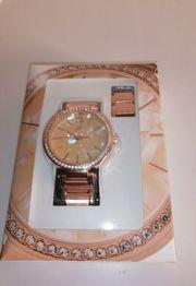 Auriol Damen Armbanduhr analog Quarz