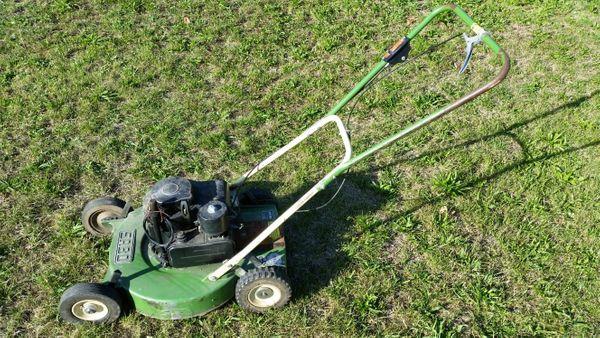 Benzin- Wiesenmäher Rasenmäher