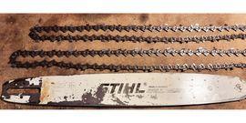 Stihl Motorsäge Führungsschiene/Schwert+ 2 Vollmeiselketten