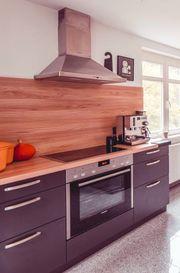 Einbauküche mit Elektrogeräten Siemens Bosch