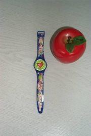 Swatch Apfel - Valentinstag 1997 - Liebhaberuhr