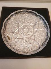 Bleikristall Schale Dekoration