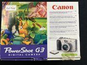 Digital Kamera Canon PowerShot G3