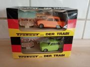 Zwei Trabi Modelle