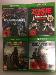 4 Xbox one Videospiele