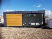 Bürocontainer 8x3m Autohan Pavillon Bürocont