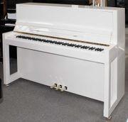 Klavier Feurich 115 cm weiß
