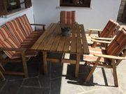 Stabile Holzsessel klappbar - Vollholz - Terrassenmöbel -