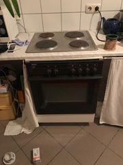 Einbauherd mit Kochplatten zu verschenken