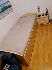 Einzelbett 90x200 cm von Wellemöbel