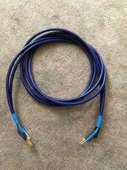 3 Paare Mogami Lautsprecherkabel Blue