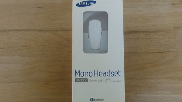 Orig Samsung Bluetooth-Headset HM1300 in