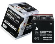 SIGA AGM Motorrad Batterie 14Ah -