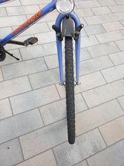 Damen Fahrrad blau mit 5