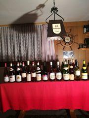 Verkauf Weinsortiment