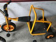 Rabo Kinder Dreirad-Streitwagen kaum benutzt